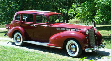 1938 Packard, owned by David Wall